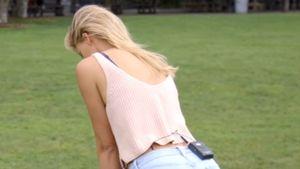 Sexy Golfen mit Kelly Rohrbach: DiCaprio-Verlobte locht ein