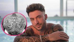 Kompletter Rücken zugehackt! Keno Rüst zeigt neues Tattoo