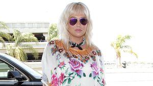 Sängerin Kesha kommt im September 2016 am Flughafen Los Angeles an.