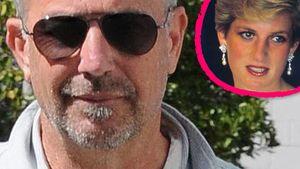 Prinzessin Diana und Kevin Costner