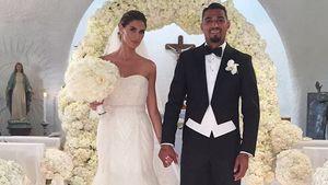 Melissa Satta und Kevin-Prince Boateng bei ihrer Hochzeit auf Sardinien 2016