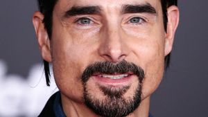Kevin Richardson 2016 bei einer Filmpremiere in Los Angeles