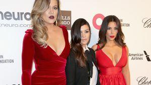Khloe, Kourtney und Kim Kardashian bei der 22nd Annual Elton John AIDS Foundation's Oscar Viewing Pa