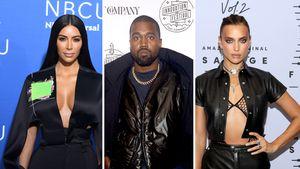 Das denkt Kim Kardashian über Kanyes Flirt mit Irina Shayk
