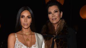 2017Kim Kardashian und Kris Jenner bei der Paris Fashion Week 2017