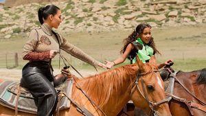 Echtes Cowgirl: So cool feiert North West ihren Geburtstag!
