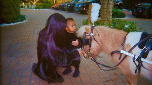Kim Kardashian mit Sohn Saint