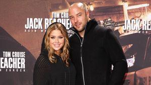 "Kim Gloss & Alexander Beliaikin bei der ""Jack Reacher 2""-Premiere in Berlin"