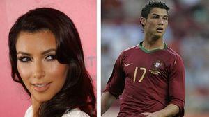 Kim Kardashian knutscht mit Cristiano Ronaldo
