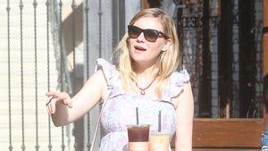 Stolze Schwangere! Kirsten Dunst zeigt ihre XXL-Babykugel