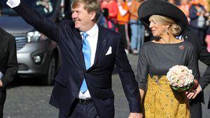 Königin Máxima & Willem-Alexander halten verliebt Händchen!