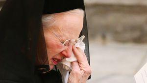 Bittere Tränen: Königin Margrethe weint um ihren Henrik