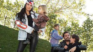 Kindergeburtstag mit Kourt: Scott Disick kam ohne Freundin