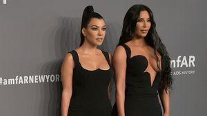 Während Kanye-Scheidung: Kourtney Kardashian steht Kim bei!