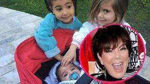 Die 2. Kardashian-Generation: So stolz ist Oma Kris Jenner!