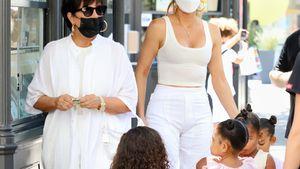Süße Pause: Kardashian-Kids bekommen von Oma Eis spendiert