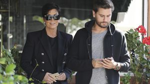Kris Jenner und Scott Disick unterwegs in L.A.