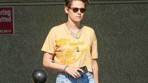 Lässiger Streetstyle? Kristen Stewart shoppt in Löcher-Jeans