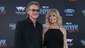 "Kurt Russell und Goldie Hawn bei der Premiere von ""Guardians Of The Galaxy Vol. 2"""