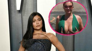 Hier lässt Kylie Jenner Finger im Dekolleté verschwinden!