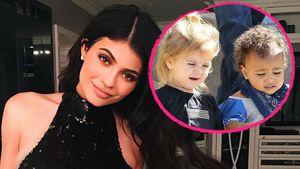 Kylie Jenner mit ihren Nichten North West und Penelope Disick