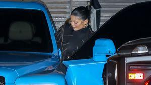 Kylie und Caitlyn Jenner sind in ihren Mega-Autos unterwegs!