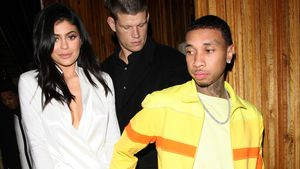 "Kylie Jenner und Tyga beim Verlassen des ""The Nice Guy""-Restaurants in West Hollywood"