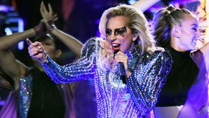 "Lady Gaga bei der ""Pepsi Zero Sugar Super Bowl LI Halftime Show"" in Houston"