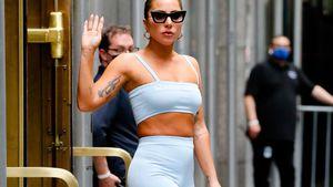 Top oder Flop? Lady Gaga kombiniert Gym-Look mit XXL-Heels