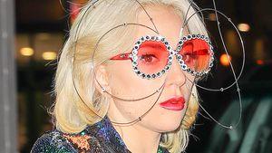 Was ist das? Lady Gaga sorgt mit DIESER Brille für Lacher!