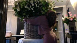 Freund schenkt Lady Gaga XXL-Blumenstrauß zum Geburtstag!