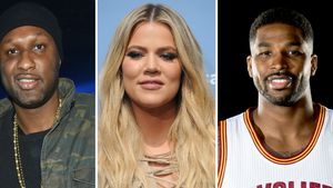 Lamar Odom, Khloe Kardashian und Tristan Thompson