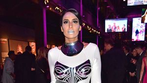 Lamiya Slimani bei der Maybelline New York Hot Trends Xhibition