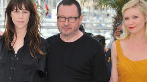 Kirsten Dunst und Lars von Trier