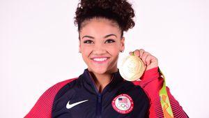 """Zweifache Olympiasiegerin Lauren """"Laurie"""" Hernandez"""