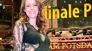 Berlinale: Lavinia Wilson verzückt mit Babykugel