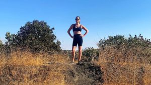 Fit und in Form! Lea Michele zeigt ihren After-Baby-Body