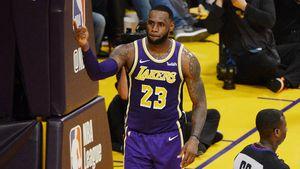"""LeBron James besser als Idol: """"Wollte immer wie Jordan sein"""""""