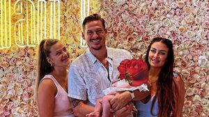 Erstes Foto: Sänger Lee Ryan zeigt seine neugeborene Tochter