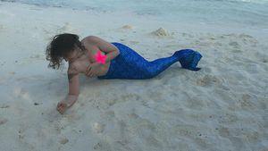 Lena Dunham als Meerjungfrau