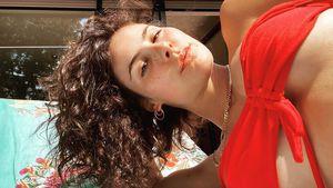 So sexy sonnt sich Lena Meyer-Landrut auf Mamas Balkon!