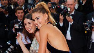 Lena Meyer-Landrut und Stefanie Giesinger bei den 70. Internationalen Filmfestspielen in Cannes
