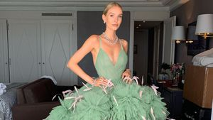Pompöses Kleid: Bloggerin Leonie Hanne verzaubert Cannes