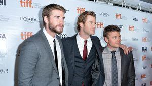 Wie Papa! Chris Hemsworths' Twins haben eigene Thor-Hämmer