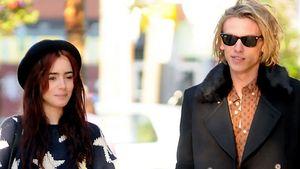 Verdächtige Posts: Love-Reunion bei Lily Collins & Jamie?