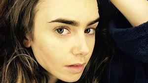 Oben ohne! So schön ist Lily Collins ganz ohne Make-up!