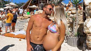 """""""So geschwollen"""": Bachelor-Lina gibt Schwangerschaftsupdate"""