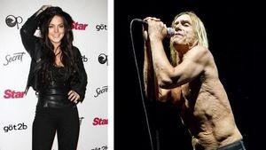 Lindsay Lohan und Iggy Pop