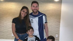Am Geburtstag: Lionel Messi postet seltenes Familien-Pic!