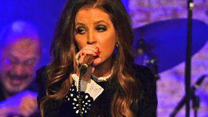 Lisa Marie Presley auf der Bühne